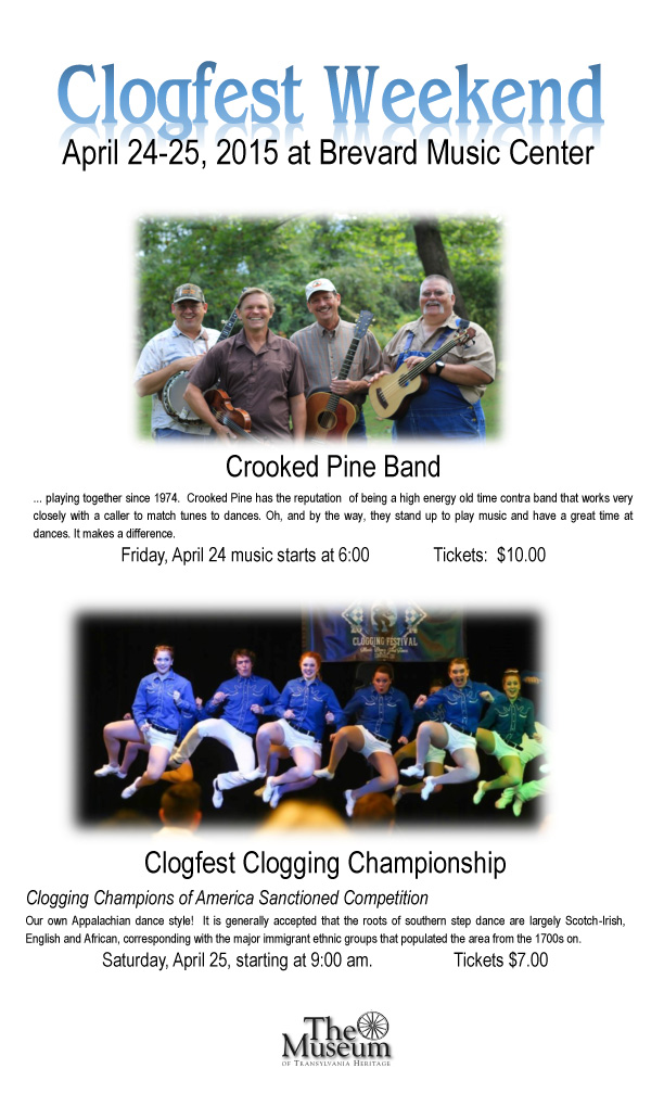 Crooked Pine Concert / Clogfest Weekend