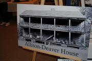 Sesquicentennial Exhibits at County Library - December 3, 2011 - Allison-Deaver House